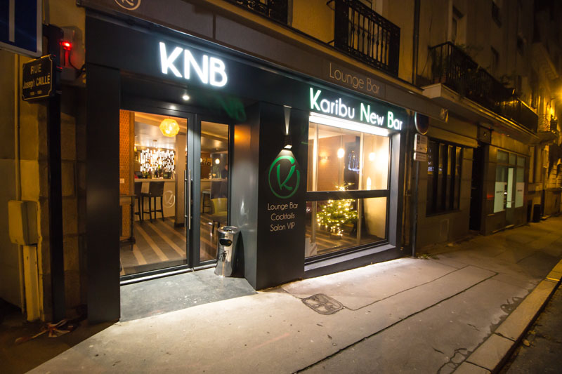 Réalisation KNB, bar à Nantes - la Machine Affaires